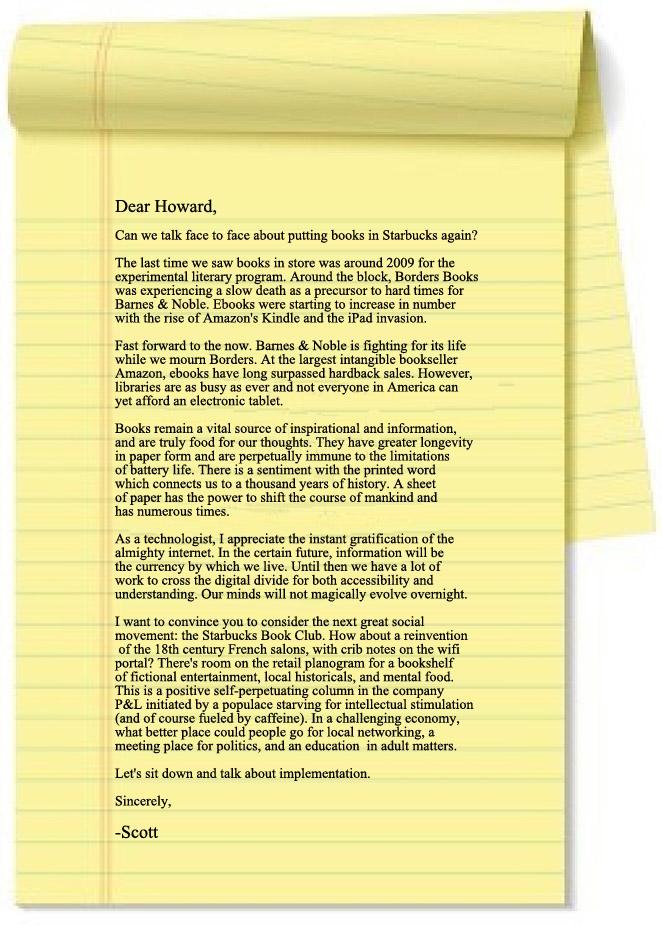 Dear Howard-pad